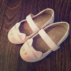 Blush Pink Cat & Jack Toddler Girls Dress Shoes